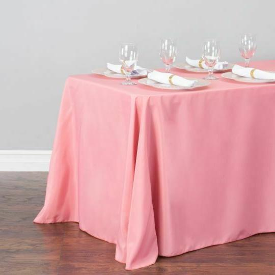 LinenTablecloth in. Rect Tablecloths,33 Color! Wedding Event