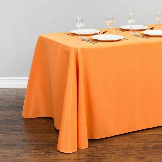 LinenTablecloth x in. Poly Color! Wedding Event