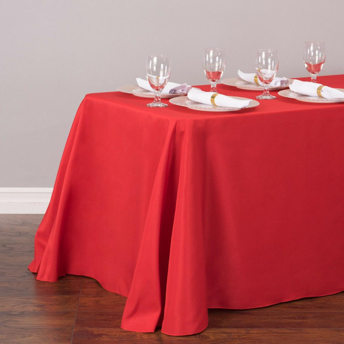 LinenTablecloth in. Poly Tablecloths,33 Color! Wedding Event