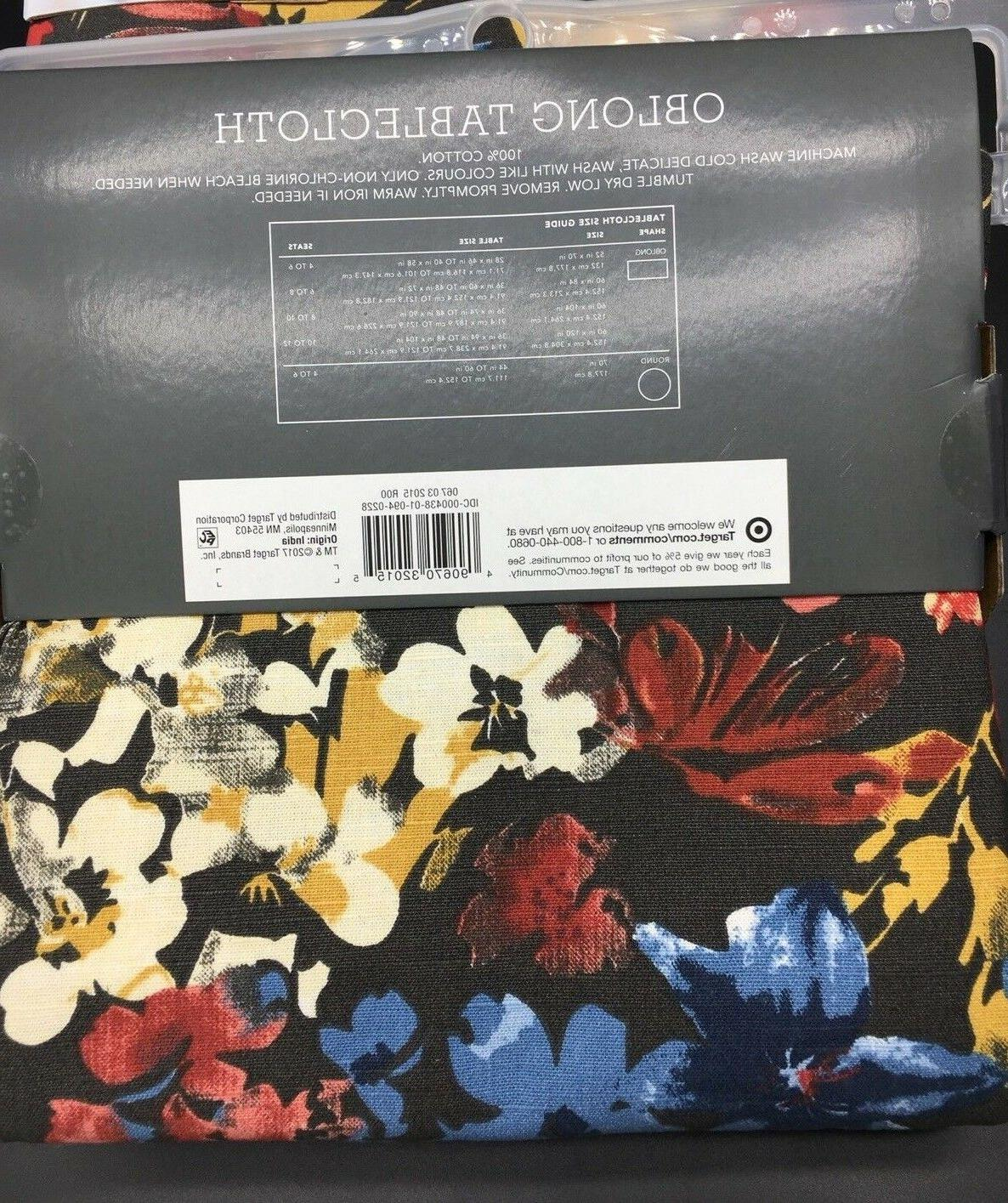Threshold Oblong x Tablecloth Kitchen Fabric