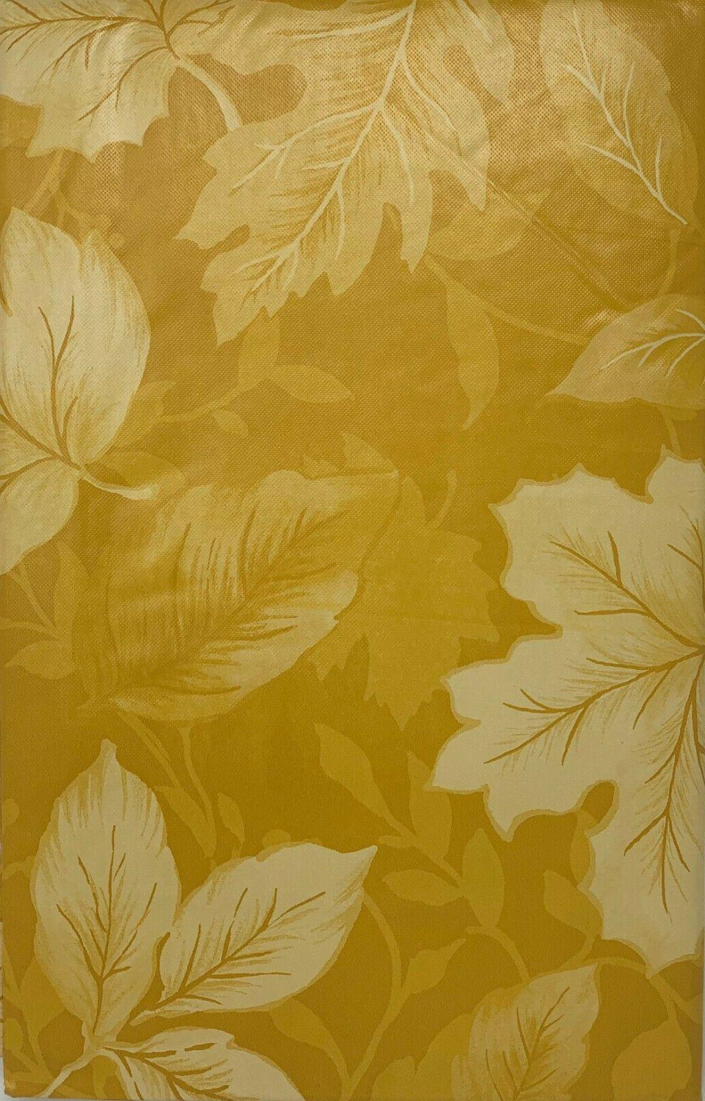 Autumn Backed Tablecloth. Round, Square, Fall party