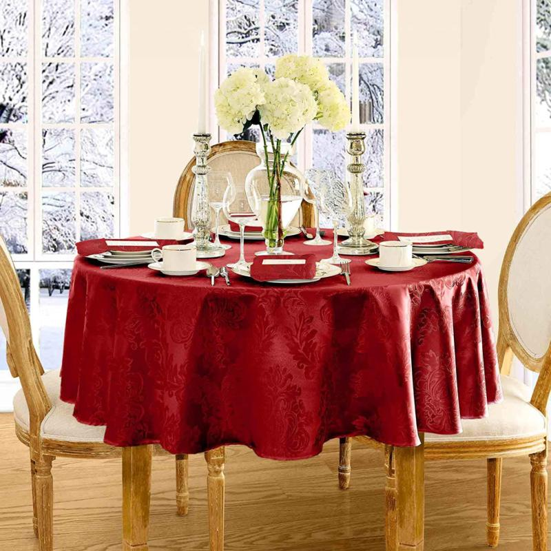 barcelona luxury damask fabric tablecloth by 100