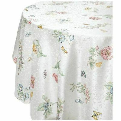 butterfly round tablecloth