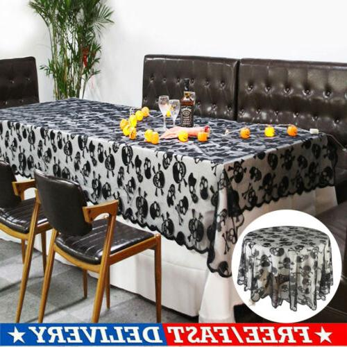 halloween tablecloth fbaric round square lace table