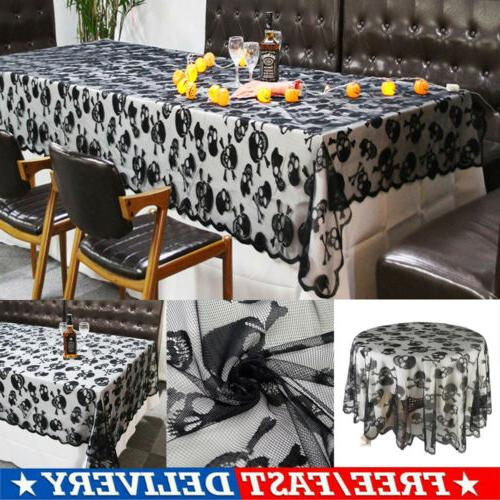 Halloween Tablecloth Fbaric Square for Movie