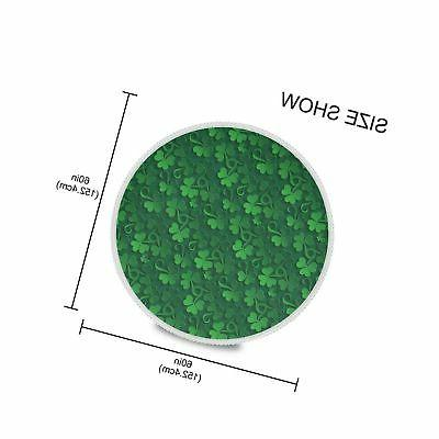 ALAZA Lace Patrick Day Dust-Proof Polyester ...