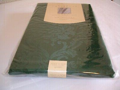 """New! Fabric Green Tablecloth Dining Kitchen 60"""" Polyester"""