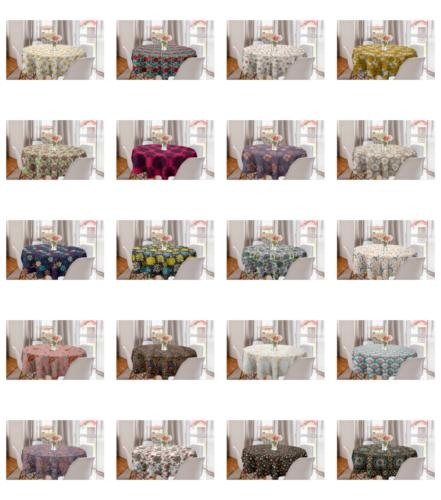 Ambesonne Pastel Tablecloth Table Cover for Dining