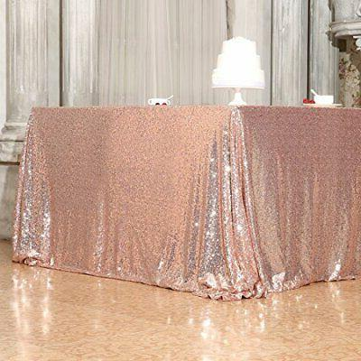 Poise3EHome 50x50 Tablecloth for Cake Dessert Table Exhibit