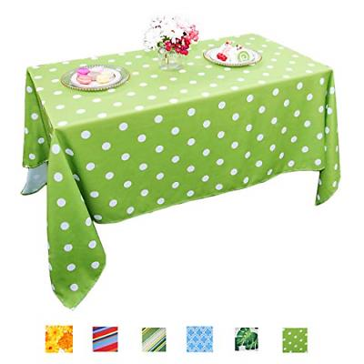 polyester outdoor tablecloth rectangular spillproof for fall