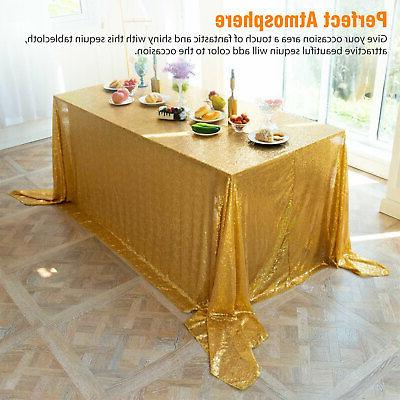 Rectangle Sparkly Cloth Cover Wedding US