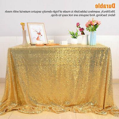 Sparkly Sequin Table Wedding Party