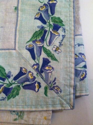 retired rare watercolor table cover tablecloth