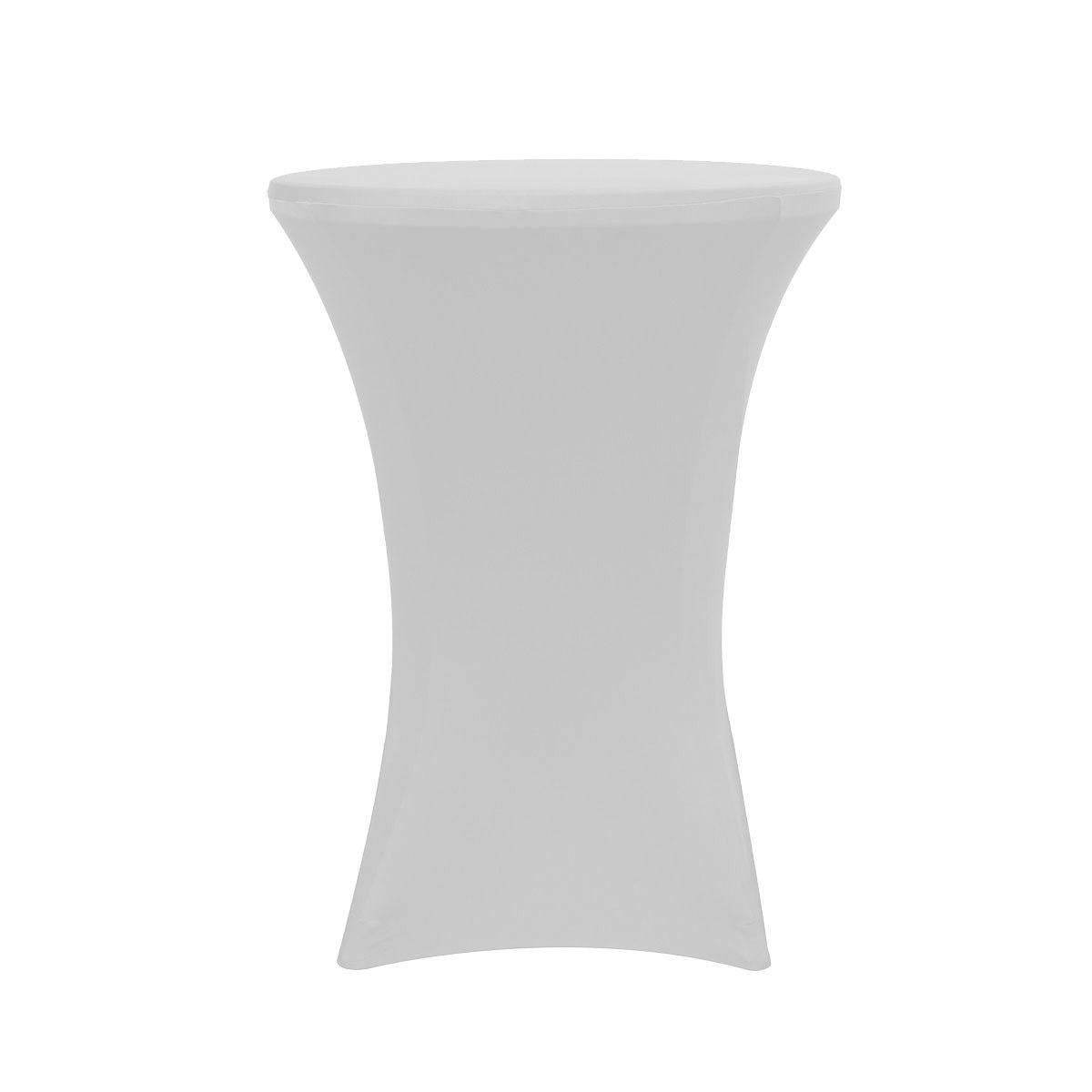 Round Spandex Stretch Tablecloth Cocktail