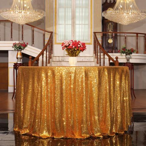 Eternal Tablecloth, Sequin Round,