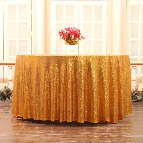 Sequin Table Linen, Round,