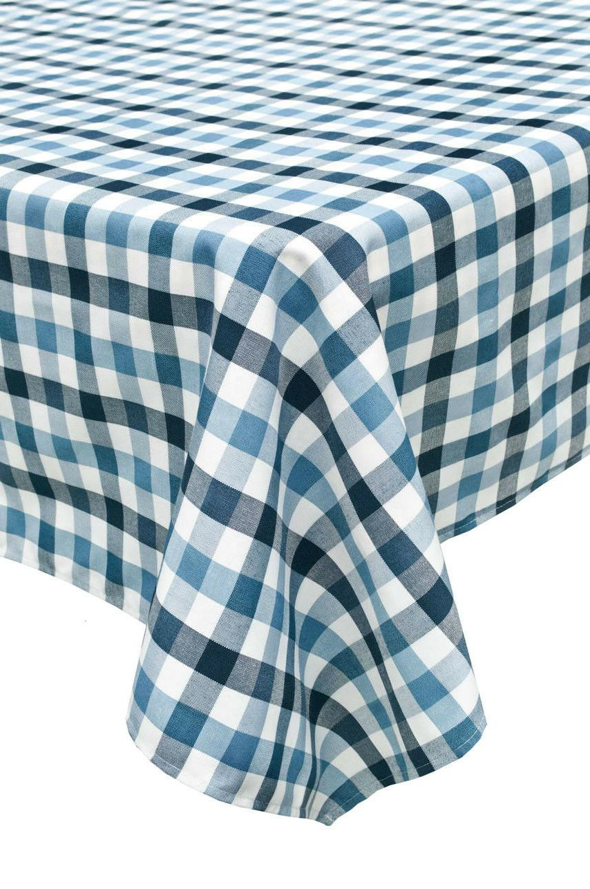Set 2 color grids dinning tablecloth