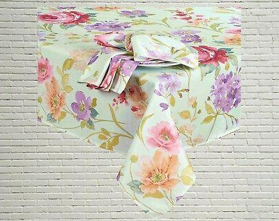 Spring 60 x 84 Rectangle Pink Fabric
