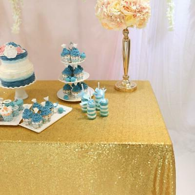 Table Sequin Overlay Party