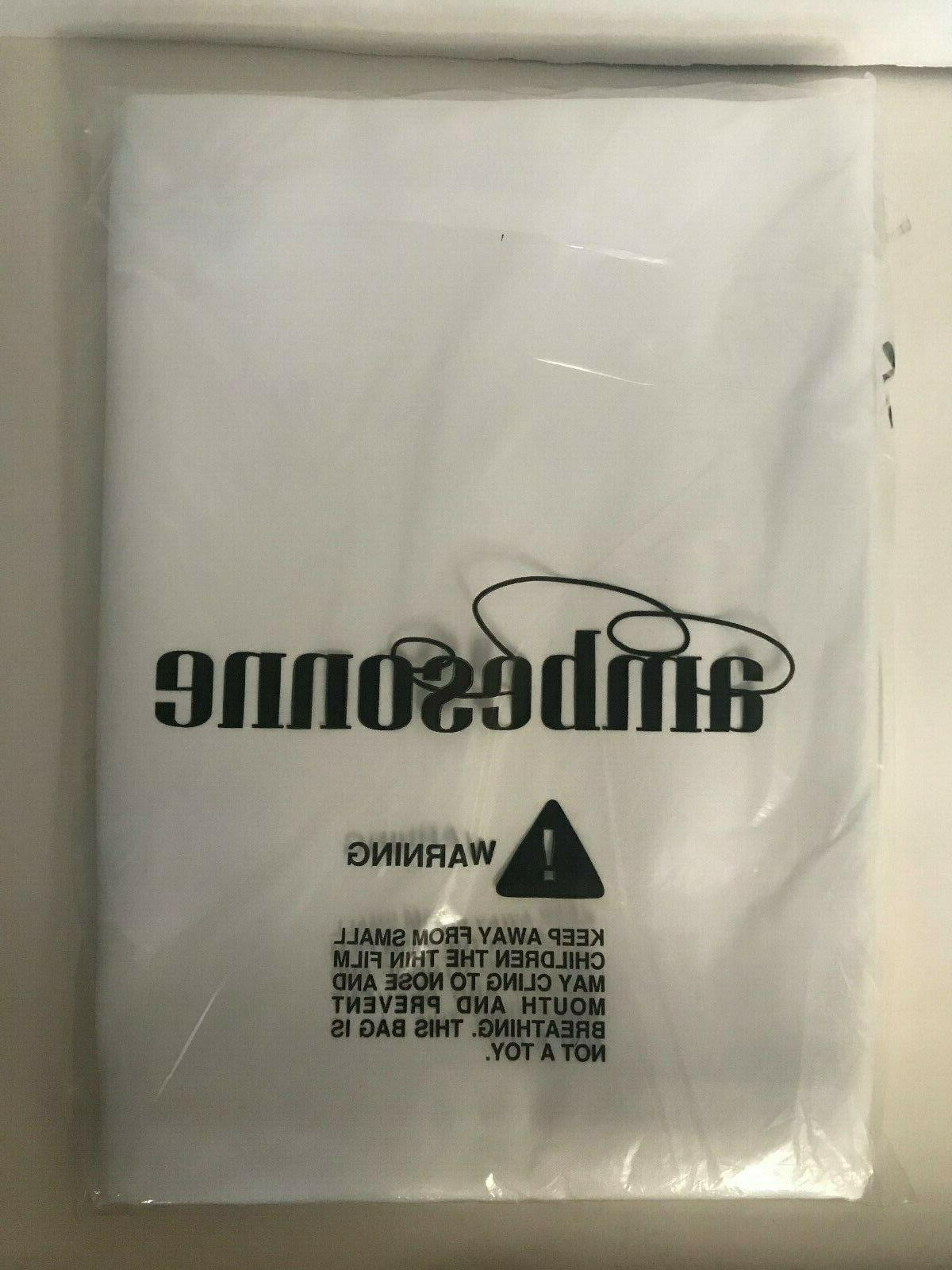tablecloth 52 x70 inch white polyester new