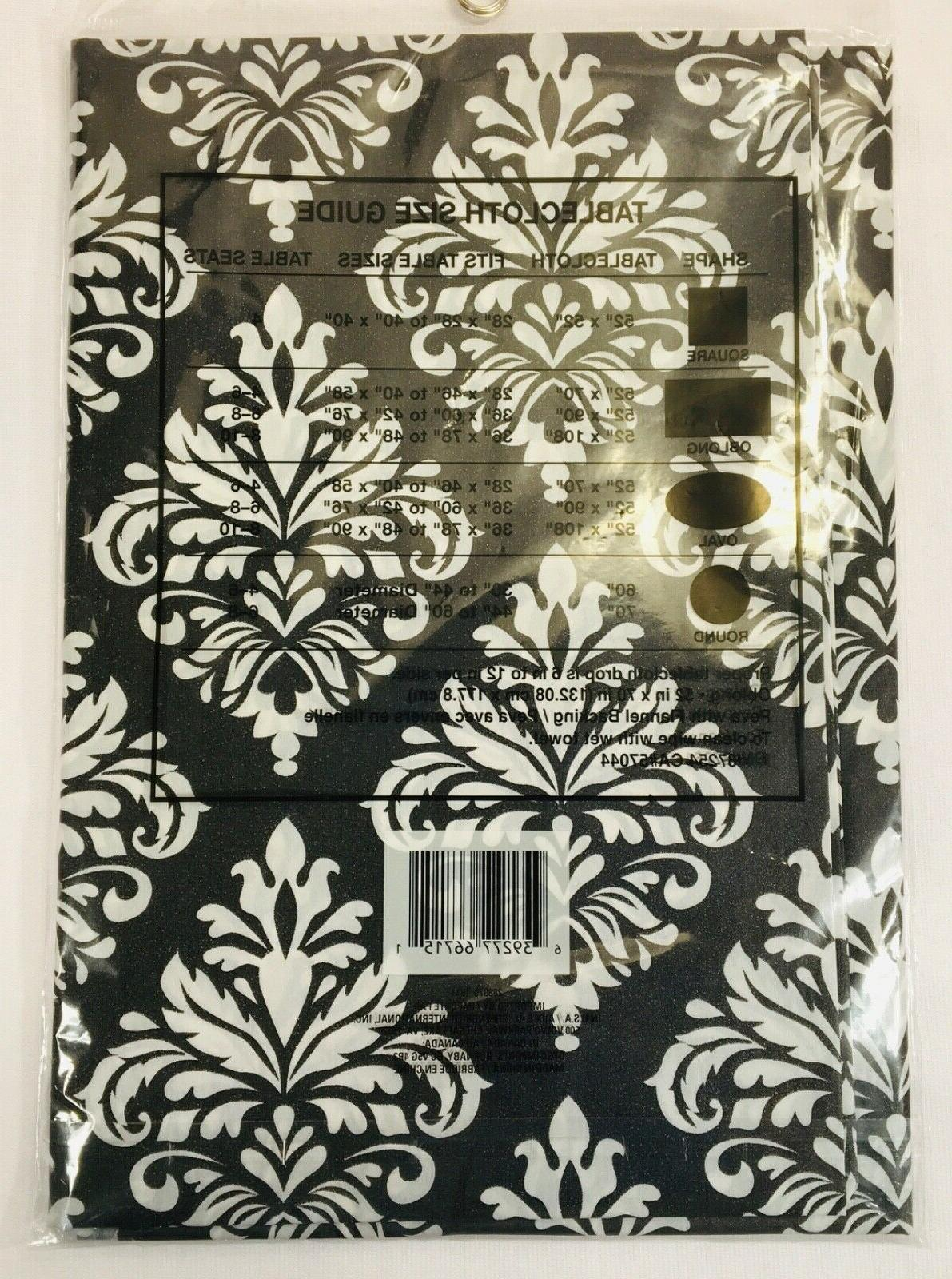 Tablecloth Flannel 52in x 70in