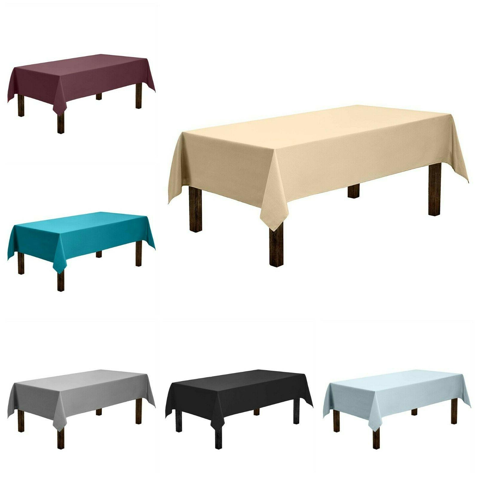Tablecloth For Buffet Table Dinner Parties Rectangular Table