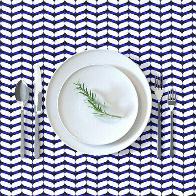 Tablecloth Geometric Abstract Cotton Sateen