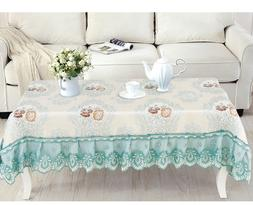 lace tablecloths coffee table bedroom table cover rectangula