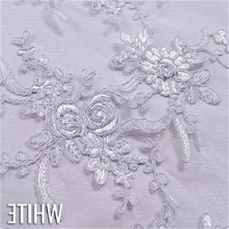 Laylani Lace in White - Lace Tablecloths and Overlays for We