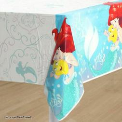LITTLE MERMAID TABLECOVER Birthday Decoration Party Supplies