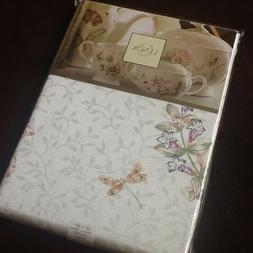 """NEW Lenox® Butterfly Meadow® Flutter 52"""" Square Cotton Tab"""