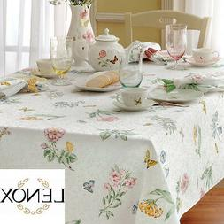 NEW Butterfly Meadow Tablecloth by Lenox - Lenox Butterfly M