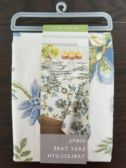 New Bardwil Linens Flannel-backed Vinyl Tablecloth 52 x 70 2