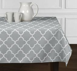 New Grey White Modern Trellis Dining Room Kitchen Rectangle