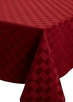 NEW Bardwill Reflections Spillproof Microfiber Tablecloth -