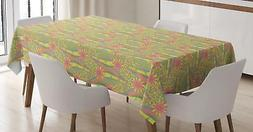 Pastel Tablecloth Ambesonne 3 Sizes Rectangular Table Cover