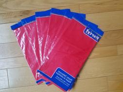 plastic tablecloths red 54 x 108 in