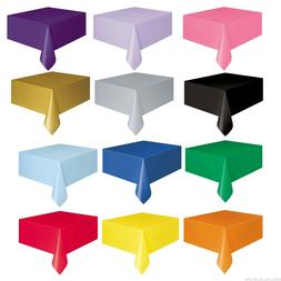 Plastic TABLECOVERS Table Cloth Cover Party Catering Events