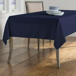 LA Linen Polyester Poplin 60 by 108-Inch Rectangular Tablecl