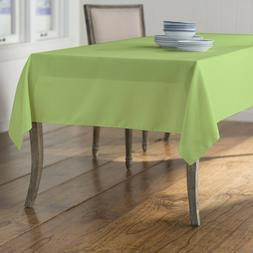 LA Linen Polyester Poplin 60 by 90-Inch Rectangular Tableclo