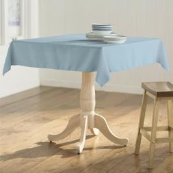 LA Linen Polyester Poplin Square Tablecloth, 58 by 58-Inch.