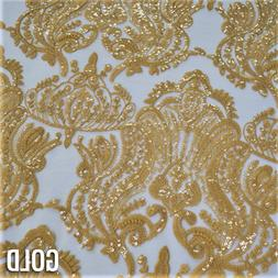 Princess Lace in Gold - Lace Tablecloths and Overlays for We