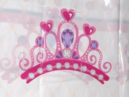 Princess Table Cover, Plastic Birthday Table Decor, Tableclo
