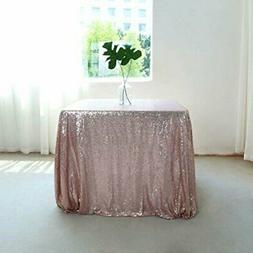 GFCC Rose Gold Sequin Table Cover