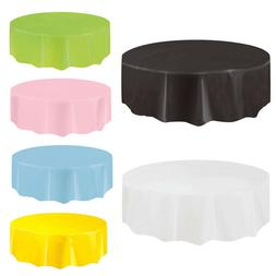 round solid disposable tablecloth peva table cloth