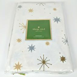 Kate Spade New York STARBURST 70in Round Tablecloth - Silver