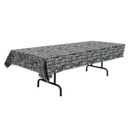 Stone Wall Tablecover Tablecloth Birthday Medieval Pirate Vi