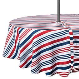 DII Summer Tablecloth, Spill Proof and Waterproof for Outdoo