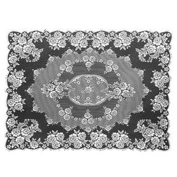 """Heritage Lace Victorian Rose Tablecloth, 60"""" x 108"""" , New, F"""