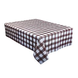 Waterproof Plastic Tablecovers Table Cloth Cover Party Cater